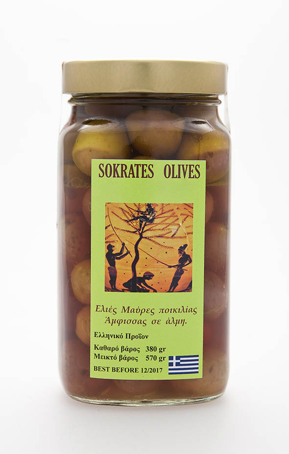 Socrates Oil Black Olives